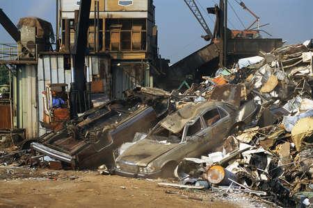 junkyard: Vertedero urbano o dep�sito de chatarra