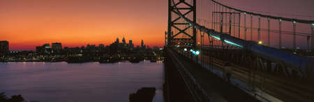 ben franklin: Ben Franklin Bridge, Philadelphia,Pennsylvania