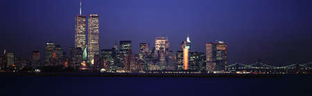 Evening Manhattan skyline photo