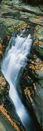 panoramics: Bushkill waterfall, Pennsylvania