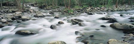 panoramics: Riverstream, Tennessee Stock Photo