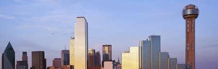 panoramics: Dallas, Texas skyline