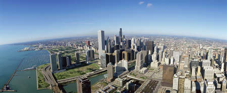 panoramics: Chicago skyline