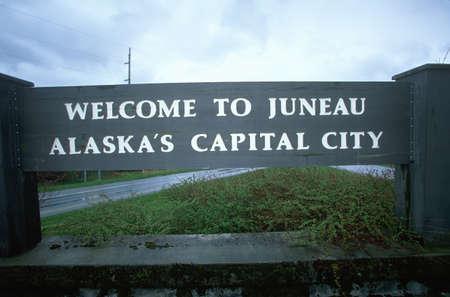 Welcome to Alaska Sign photo