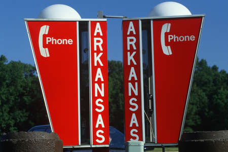 cultural artifacts: Welcome to Arkansas Sign