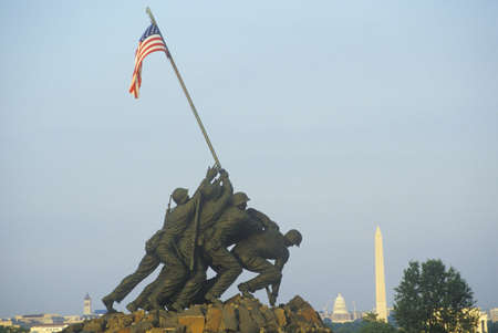 Iwo Jima United States Marine Corps Memorial in Arlington, Virginia