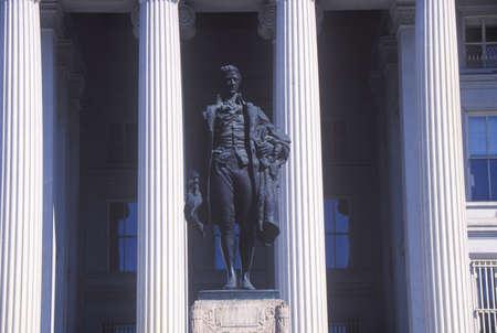 alexander hamilton: Statua di Alexander Hamilton, Stati Uniti Dipartimento del Tesoro, Washington, DC Editoriali