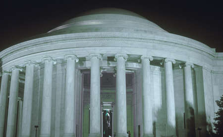 Jefferson Memorial at night, Washington, D.C.