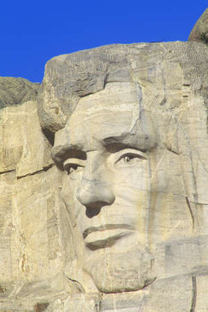 abraham lincoln: Abraham Lincoln, Mount Rushmore National Monument Near Rapid City, South Dakota