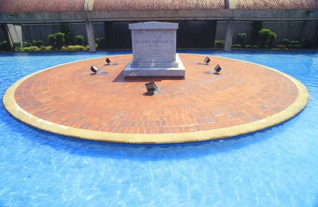 nonviolence: Tomb & Reflecting Pool at Martin Luther King Center, Atlanta, Georgia
