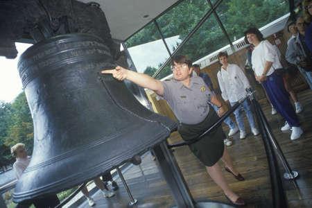 Liberty Bell and Tour Group, Philadelphia, Pennsylvania