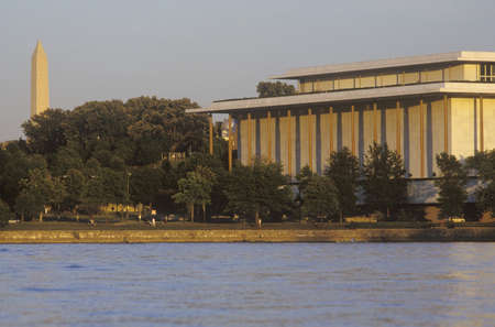 The Kennedy Center for the Performing Arts by the Potomac, Washington, D.C.