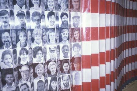 Exposeren op Ellis Island National Park, New York Redactioneel