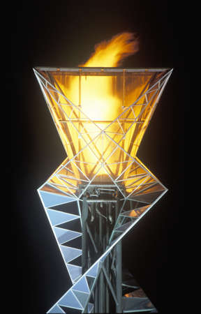 Olympic Torch, Salt Lake City, Utah, Olympische Winterspelen 2002