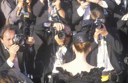 Press Photographing Celebrity at the 62nd Annual Academy Awards, Los Angeles, California