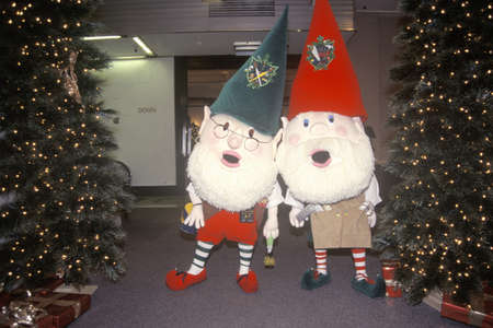 Two Elves, Marshall Field's Department Store, Chicago, Illinois Stock Photo - 20514115