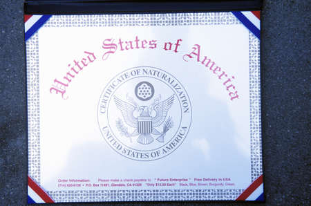 Certificate of Naturalization