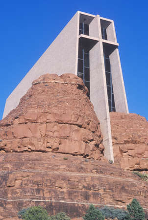 catholic chapel: Holy Cross Catholic Chapel, inspired by Frank L. Wright in Sedona Arizona