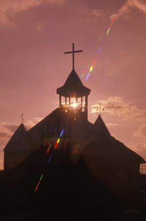 Church in San Ysidro New Mexico