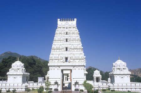 Sri Venkateshwara Temple in Malibu California Editorial
