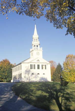 congregational: First Congregational Church building in 1756 in Warren Connecticut