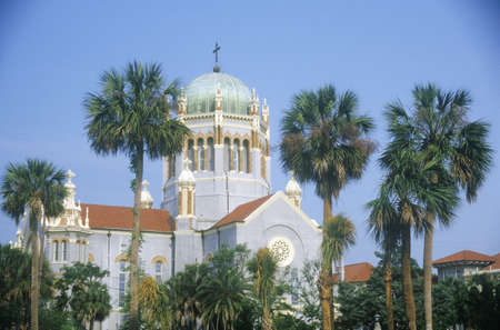 Flagler Presbyterian Memorial Church in the oldest continually inhabited city in America in Saint Augustine, FL