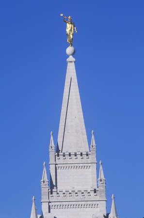 mormon temple: Mormon Temple in Salt Lake City Utah