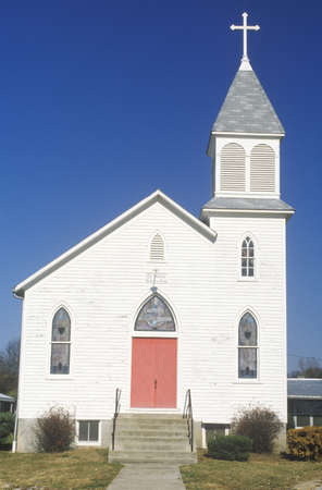 augusta: A church along the Missouri river in Augusta, Missouri