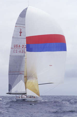 america's cup america: The America 3 versus Italy in the Americas Final Cup in San Diego, California in 1992