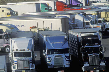 barstow: Super Truck Stop in Barstow, California Editorial