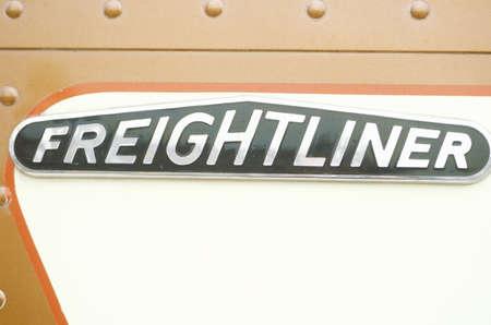 freightliner: A freightliner truck