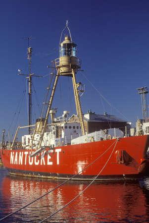 Nantucket ship in Bostons Inner Harbor, Massachusetts
