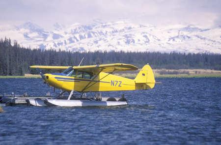 homer: A seaplane called the Homer Split in Homer, Alaska Editorial