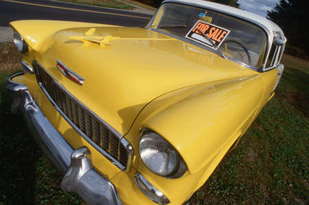 chevrolet: Yellow 1956 Chevrolet For Sale