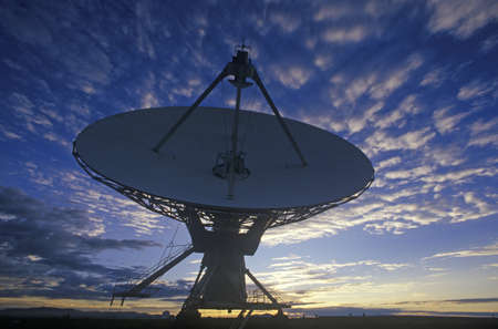 nm: Radio telescope dishes at National Radio Astronomy Observatory in Socorro, NM Editorial