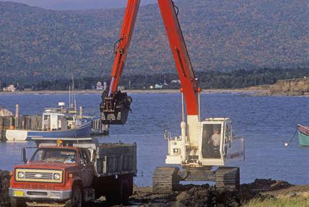dredging: Dredging the harbor in Nova Scotia Editorial