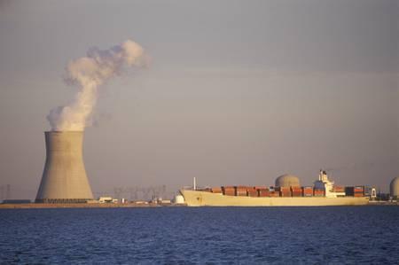 Salem Nuclear Power Plant at Delaware Bay, NJ