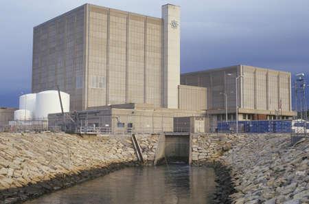 Pilgrim Stazione Centrale nucleare, MA Archivio Fotografico - 20514237