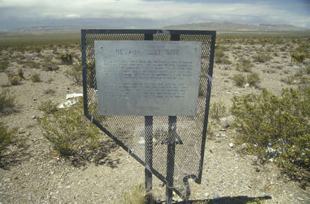 nv: Nevada Test Site, nuclear testing grounds, north of Las Vegas, NV