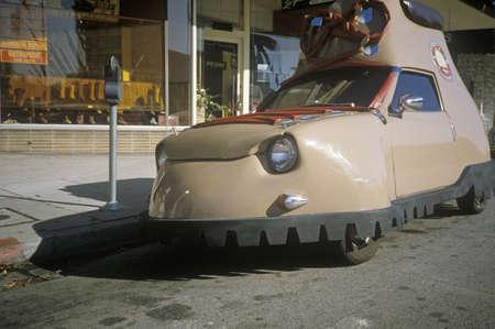 nonconformity: A Honda shoe car in Los Angeles, CA