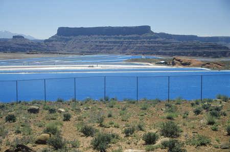 canyonland: Uranium mine in Canyonland National Park in Moab, UT