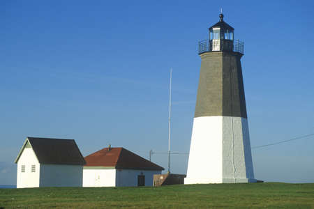 Point Judith Lighthouse at Narragansett, Rhode Island
