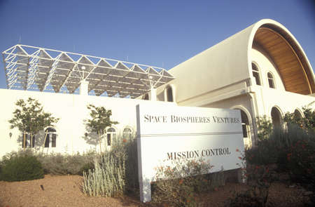 oracle: Biosphere 2 mission control center at Oracle in Tucson, AZ