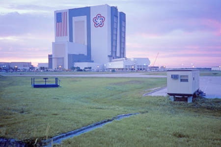 cape canaveral: Space vehicle assembly building, Kennedy Space Center, Cape Canaveral, FL