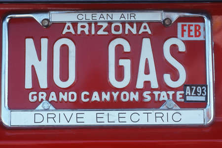 flatulence: Vanity License Plate - Arizona