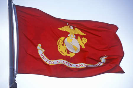 corps: Flag for US Marine Corps Editorial