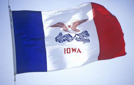 State Flag of Iowa