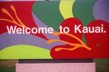 Welcome to Hawaii Sign Redakční