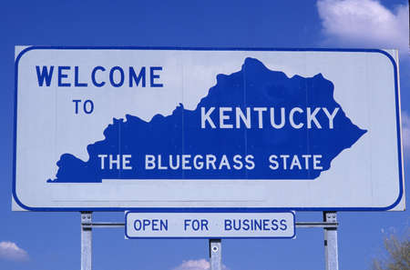 sign: Welcome to Kentucky Sign Editorial