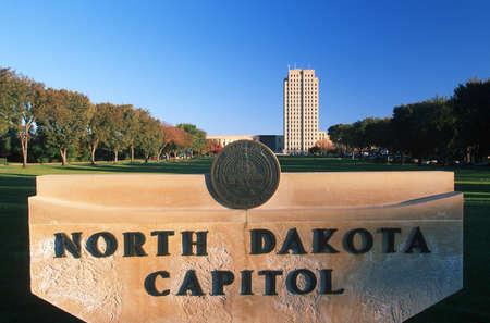 nationalistic: State Capitol of North Dakota, Bismarck
